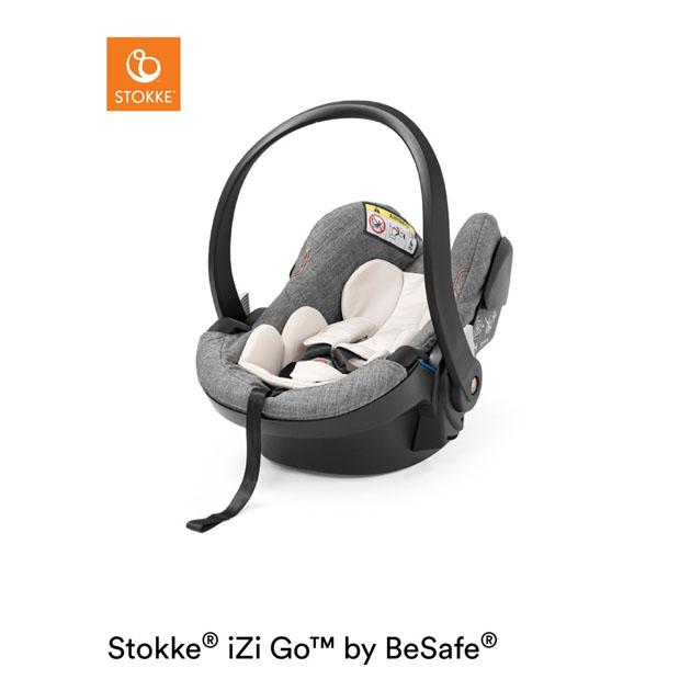 チャイルドシート Stokke iZi GO Modular X1 By BeSafe(ストッケ イージーゴー モジュラーエックスワン BY ビーセーフ) ブラックメラーンジ