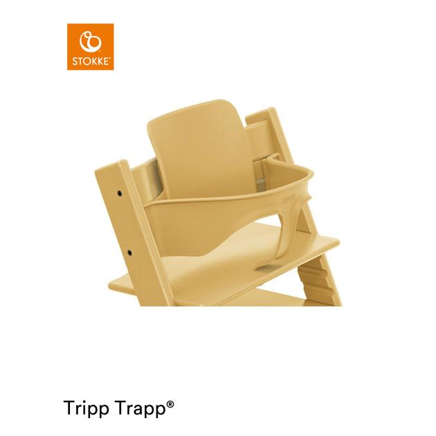 ベビーチェアオプション Stokke お洒落 Tripp Trapp Baby セール 登場から人気沸騰 Set トラップ ベビーセット サンフラワーイエロー トリップ ストッケ