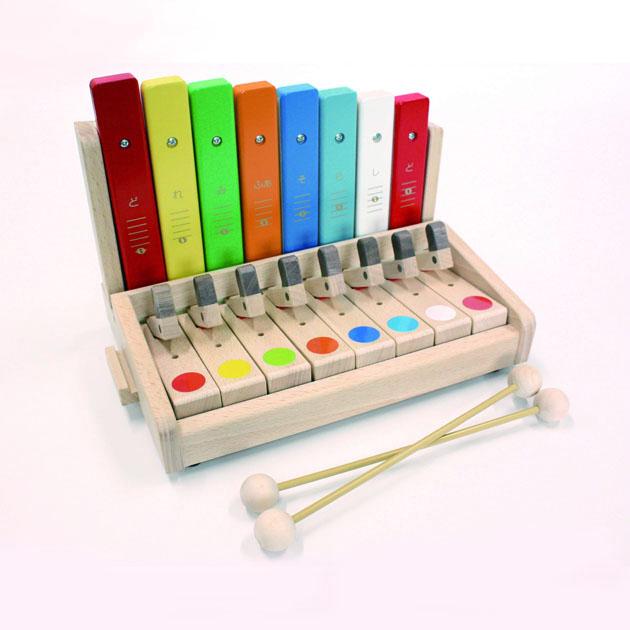 知育玩具 カワイ(KAWAI) シロホンピアノ U 9052