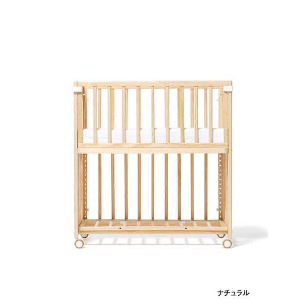 ベビーベッド yamatoya(大和屋) soinel + move(そいねーるプラス ムーヴ) ベビーベッド ナチュラル