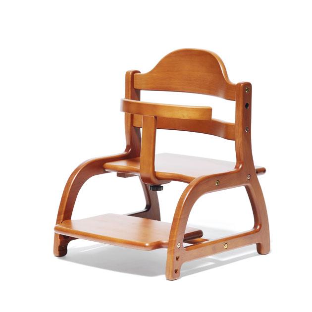 ベビーチェア yamatoya(大和屋) sukusuku low chair(すくすく ローチェア) ライトブラウン