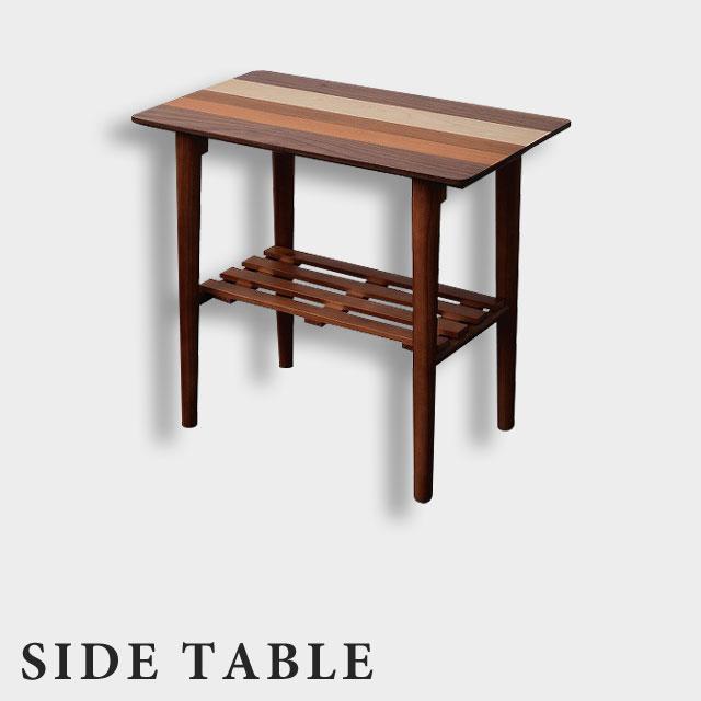 【送料無料】木製 サイドテーブル テーブル ローテーブル リビングテーブル ソファサイドテーブル センターテーブル サイド テーブル 木製 北欧 おしゃれ★YOST-550サイドテーブル(ブラウン)【02P03Dec16】