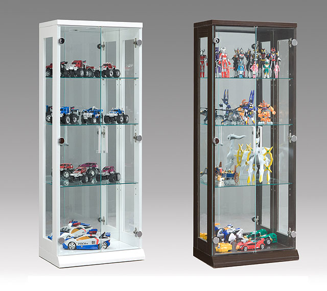 Collection Case Showcase PVC Figure Key Glass Rear Mirror Display Case  Curio Case ☆ X 50