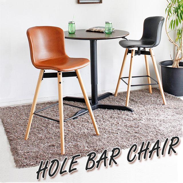 カウンターチェアー カウンターチェア カウンターキッチン用 固定 椅子 イス 背もたれ付き チェア ホールバーチェア(ブラック/キャメル)
