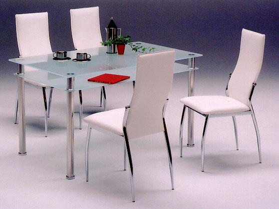 【ダイニングセット5点】【テーブル】【チェアー】キャンキャン/チェア(ホワイト)【02P03Dec16】