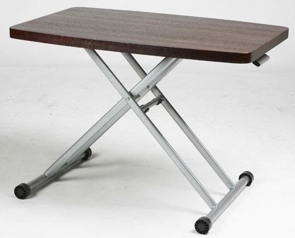リフティングテーブル 幅90cmサイズ コンパクト 木製 タモ突板 昇降式テーブル 【インテリア】 リフトテーブル★MIP-36(BR)【02P03Dec16】