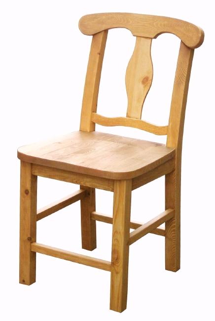 【A009P.chair2】 カントリーパイン材 ダイニングチェア デスクチェア 背中のデザインが特徴カントリーチェア ナチュラルチェア 椅子 いす【AIROS JAPAN アイロスジャパン】 【02P03Dec16】