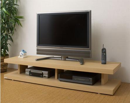 妥協知らずロースタイルのテレビボードの視点 オープンボード 150テレビ台 アフターフォローも安心な日本製 大川家具 liney150リビングボード(NA)北欧【02P03Dec16】