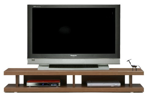 妥協知らずロースタイルのテレビボードの視点 オープンボード 150テレビ台 アフターフォローも安心な日本製 大川家具 リニアス150リビングボード(ブラウン)北欧【02P03Dec16】