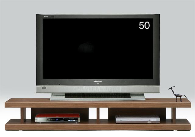 オープンボード 180テレビ台 妥協知らずロースタイルのテレビボードの視点 アフターフォローも安心な日本製 大川家具 リニアス180リビングボード(ブラウン)北欧【02P03Dec16】