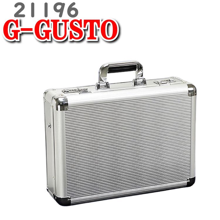 アタッシュケース メンズ A3 ビジネス アルミアタッシュケース Gガスト ガスト G-GUSTO ビジネスバッグ アタッシュ ケース 鞄 かばん アルミ アルミケース 21196 46cm 出張 バッグ 平野鞄