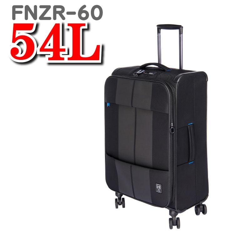 サンコー スーツケース ソフト フィノキシーゼロ finoxy ZERO サンコー鞄 SUNCO ソフトスーツケース ソフトキャリーバッグ FNZR-60 54L 60cm サンコースーツケース 鞄 キャリーバッグ キャリーケース スーツ ケース