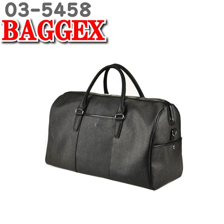 バジェックス エッジ BAGGEX EDGE ボストンバッグ 旅行用 旅行バッグ メンズ ボストン バッグ 出張 バッグ 1泊 かばん 03-5458 47cm 素材 合成皮革 ウノフク