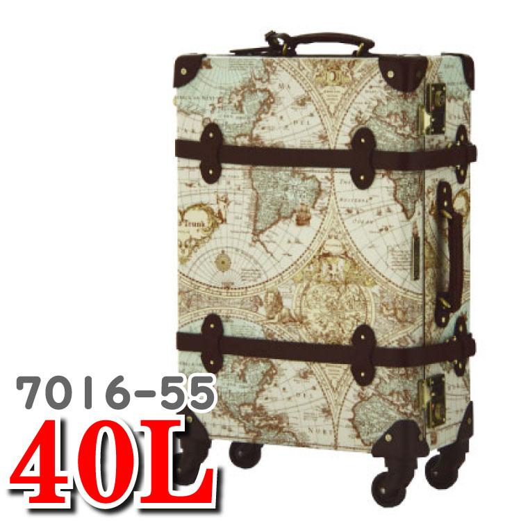 ワールドトランク トランクケース アンティーク ティーアンドエス T&S スーツケース ルネサンス 7016-55 40L ワールド トランク キャリー バッグ スーツ ケース
