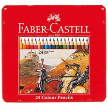 """メーカー直送 """"描き心地なめらかな色鉛筆セット"""" メール便対応可能 1個まで ファーバーカステル 2020新作 色鉛筆 24C TFC-CP 24色セット"""