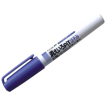 """""""細部塗りに最適 塗って青色 乾けば無色"""" 販売 メール便対応 消えいろピットほそみPT-PC 強力スティックのり 大放出セール トンボ鉛筆"""