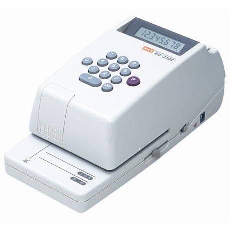 【送料無料】マックス 電子チェックライタ 8桁 コードレスEC-310C EC90007