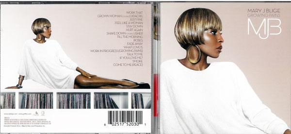 メーカー: 発売日: Mary J Blige メアリージェイブライジ 中古 輸入盤 正規逆輸入品 CD 捧呈 Pains Growing