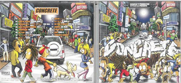 """メーカー: 発売日:2007年4月25日 ついに再販開始 SUNSET THE PLATINUM SOUND 中古 PRODUCTION VICL-62360 PRESENTS 流行のアイテム """"CONCRETE"""" CD"""
