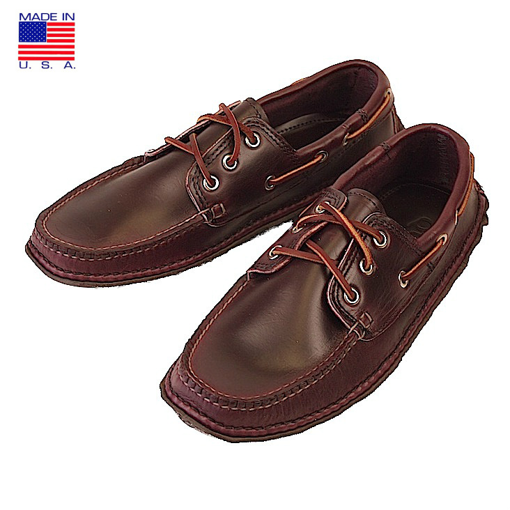 QUODDY クオディ 606030 Boat Moccasin ボートモカシン Horween Cavalier Windsor Wine アメリカ製