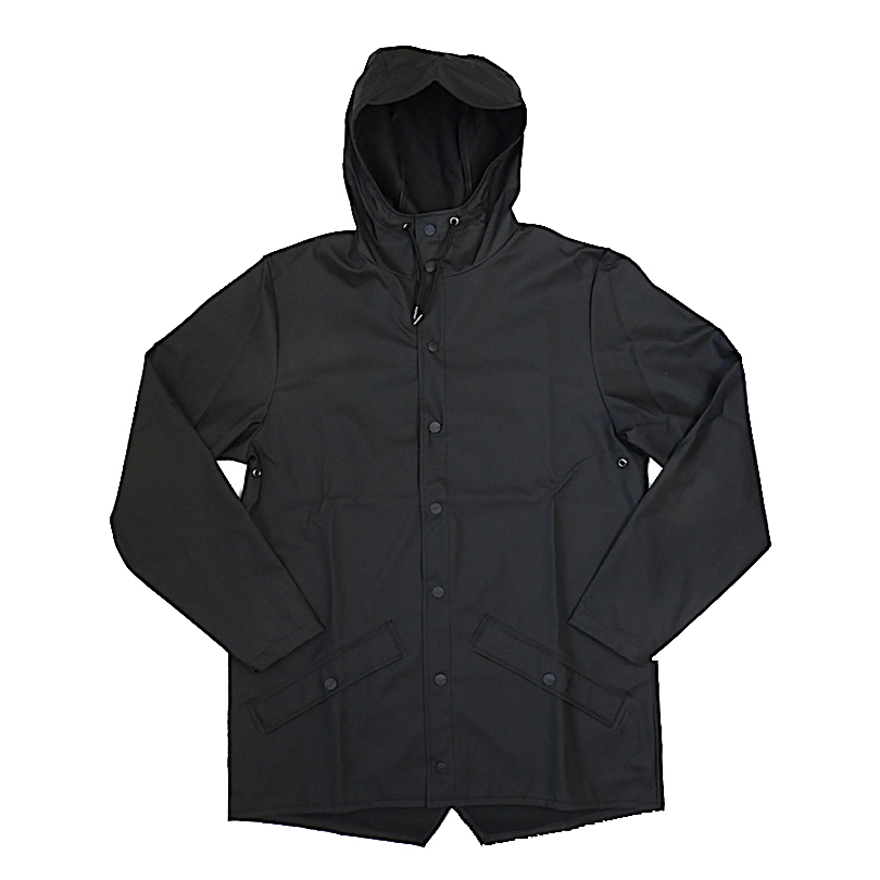 RAINS レインズ ジャケット ブラック レインコート 防水 2019年 春夏入荷商品