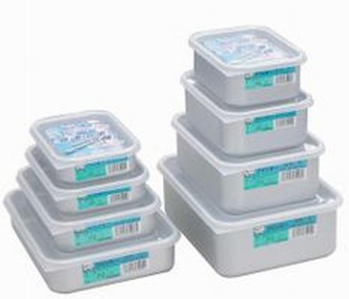 08 アカオ クイッキー 豊富な品 業界No.1 02P03Sep16 浅型中 アルミ保存容器