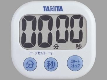 0630 タニタ でか見えタイマー TD-384 値引き ホワイト メーカー再生品 02P03Sep16