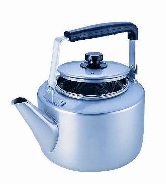 ステンレス茶こし網付き AKAO(アカオ) 茶こし付大型ケットル 8L