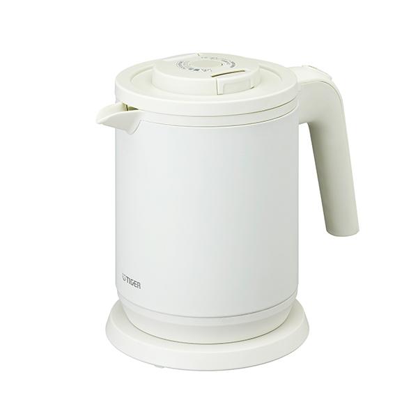 新作からSALEアイテム等お得な商品満載 1杯分約45秒の スピード沸とう 送料無料 タイガー 送料0円 WH 電気ケトル マットホワイト PCK-A080