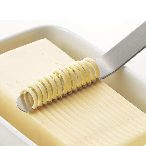 新発売 バターを糸状に削り ふんわり塗れるバターナイフ ヨシカワNulu バターナイフ AS0035 国産品