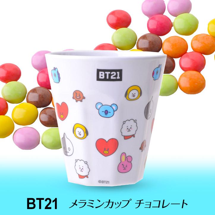BT21 メラミンカップ入り チョコレート