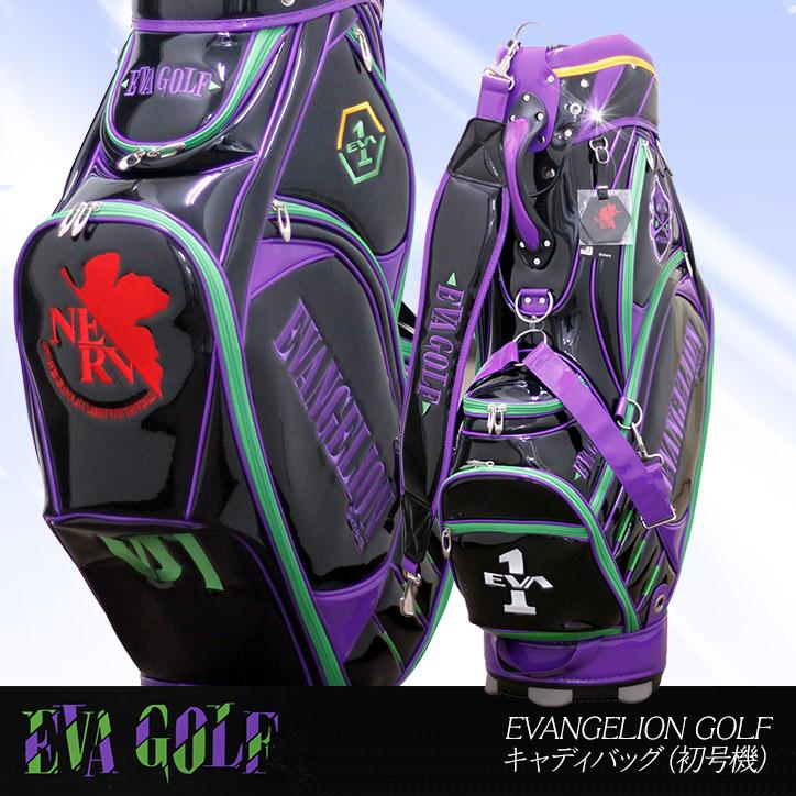 Entame Golf 【neon Genesis Evangelion】golf Bag Eva 01