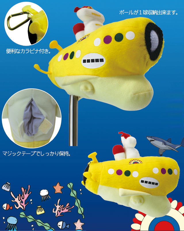 SUBMARINE Blade/Ping Putter Cover (Novelty golf head covers)