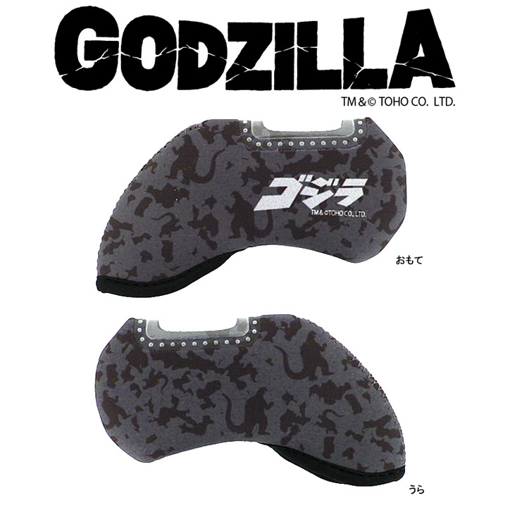 Entame Golf: Godzilla Iron Cover (for Nothing) Head Cover
