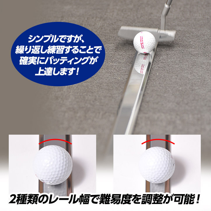The Rail (Golf Putting Aid, With a Dedicated Box)
