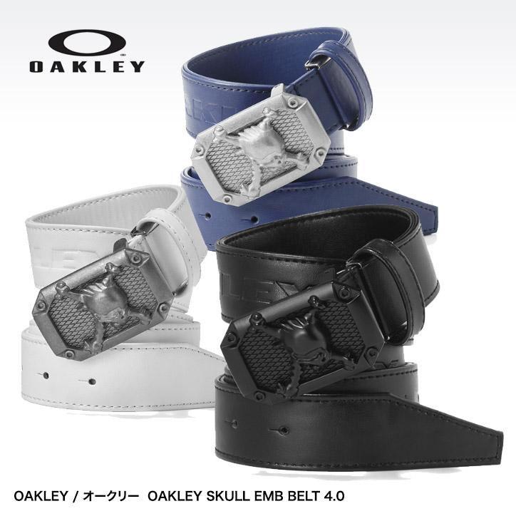 Entame Golf  Oakley scull belt OAKLEY SKULL EMB BELT 4.0 96197JP ... b24dc221a5b04