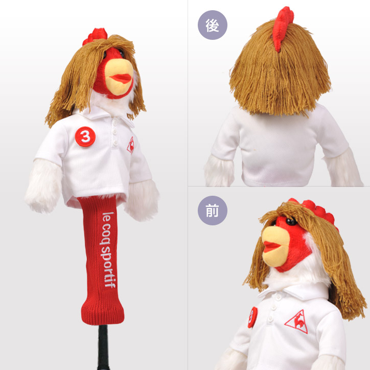 【Le Coq Sportif 】Chicken Golf Club Fairway Wood Headcover(QQ4242)