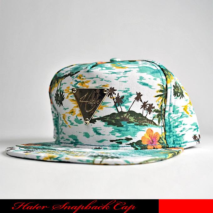 Starter Black Label Paradise Snapback Black//Green Flat Baseball Cap