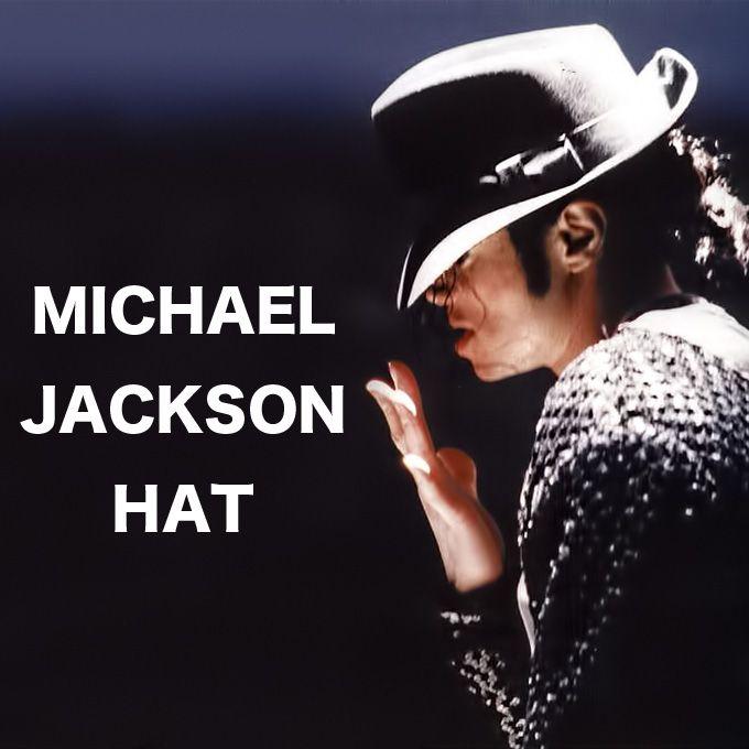マイケル・ジャクソンビリージーンスタイルハットです。☆マイケル・ジャクソン/ビリージーンズ/中折れハット/つまみ帽/ブラック/フェルト/フェドラハット/michael jackson/
