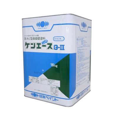 日本ペイント株式会社 送料無料 格安店 ニッペ ケンエースG-2 16kg 新色 シャニンブルー つや消し 日本ペイント