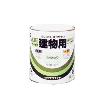ロックペイント株式会社ハケ塗りしやすい油性塗料のロングセラー 油性建物用 ツヤアリ 再販ご予約限定送料無料 ロックペイント 2L 代引き不可