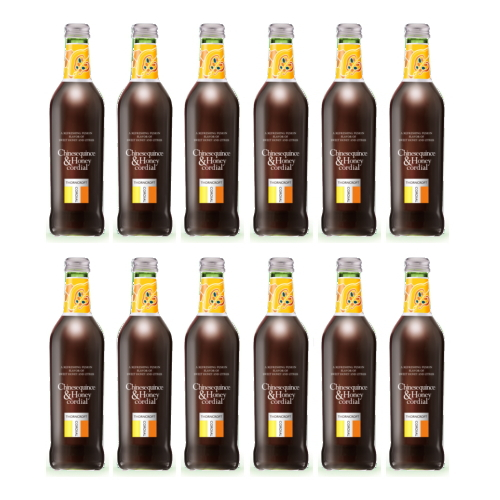 数量限定 ソーンクロフト ハーブ コーディアル カリン&ハニー 375ml 12本セット かりん&蜂蜜 シロップ タルゴ