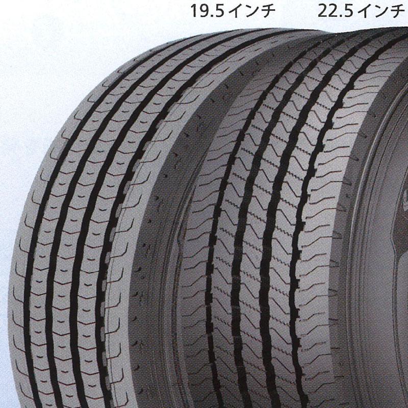 11R22.5 16PR X MULTI Z ミシュラン MICHELIN タテ(リブ)溝