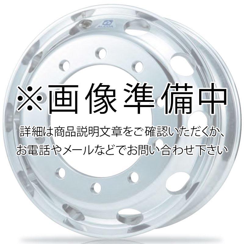 日本製鉄 タフブライト 19.5インチ×6.75(136) 8穴/285 JIS規格 アルミホイール