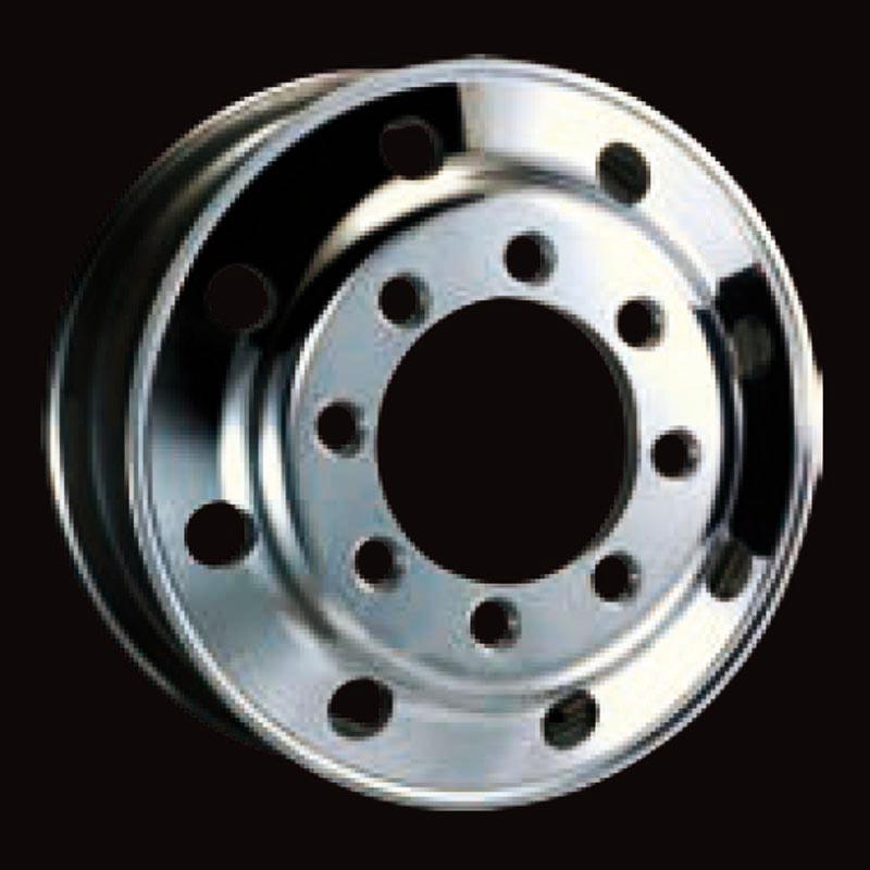 日本製鉄 タフブライト 22.5インチ×8.25(165) 8穴/285 JIS規格 アルミホイール