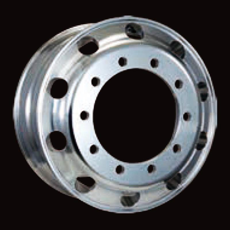日本製鉄 タフブライト 22.5インチ×9.00(175) 10穴/335 新ISO規格 アルミホイール
