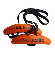 Angles90 (2 グリップ + 1 カラビナ)お取り寄せ品 トレーニング ワークアウト フィットネス ジム フィジーク ボディビル チンニング リアレイズ ローイング デットリフト ラットプル カラビナ
