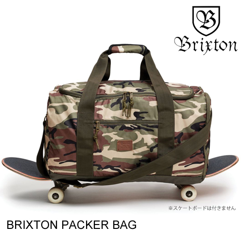 BRIXTON ブリクストン PACKER BAG CAMO ダッフルバッグ [セ]