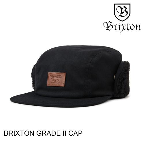 BRIXTON ブリクストン GRADE 2 CAP BLACK 帽子
