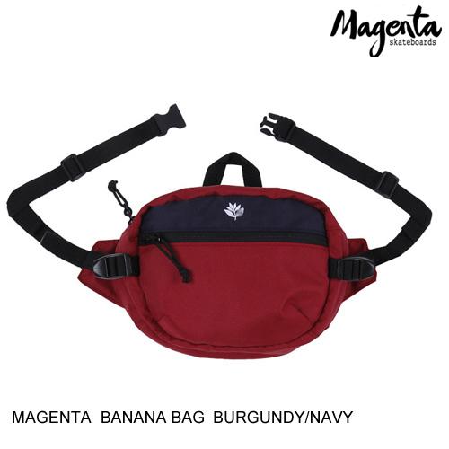 MAGENTA SKATEBOARD マジェンタ BANANA BAG 【3色】 バック [セ]